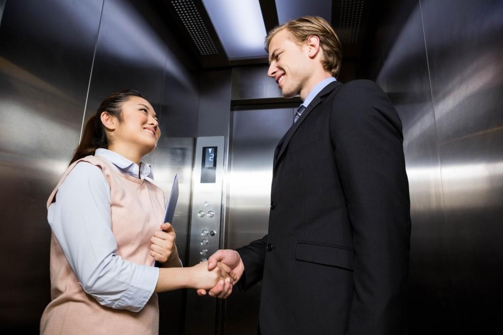 Elevator Pitch - oder mit dem Überraschungsei auf Kundenfang © Fotolia 2016/WavebreakMediaMicro